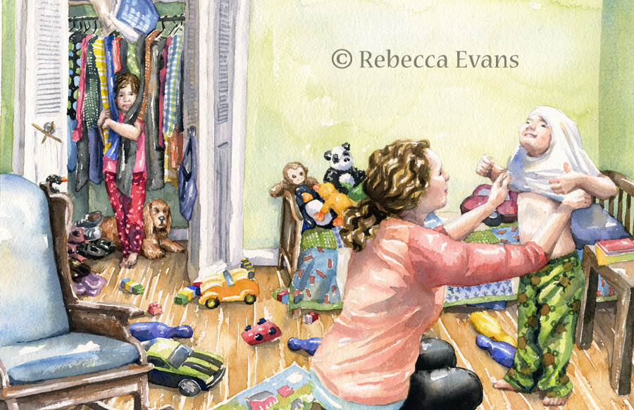 Rebecca Evans Illustration
